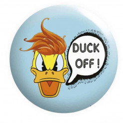 Duck OFF Badge, Duck Badges