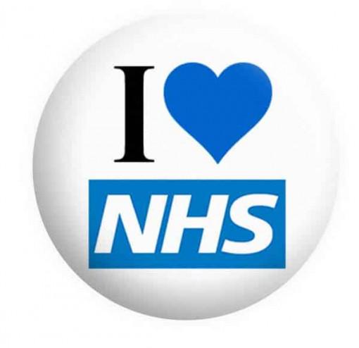 NHS Badges Button Pin Badge