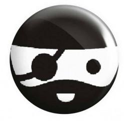 Pirate Face Pirate Badge