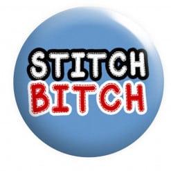 Stitch Bitch Badge sewing Badges