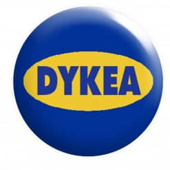 Dykea Badge, Lesbian Badges, LGBTQ