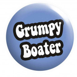 Grumpy Boater Badge, Boat Crew Badges
