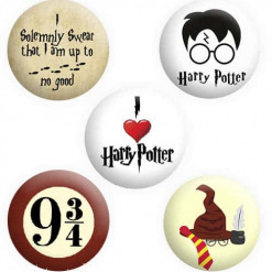 Harry Potter Badge Collection Buttons Pins Badges
