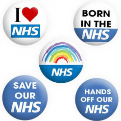 NHS Badge Collection ,Buttons, Pins, Badges