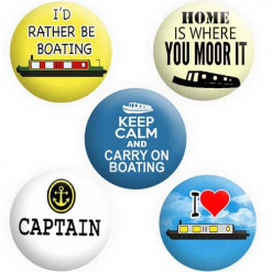 Narrowboat Badges, Canal Boat Badges