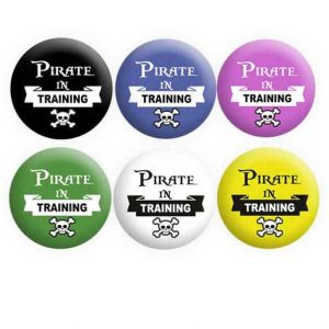 Pirate in Training Badges