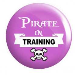 Pirate Button Badges