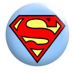 Superman badge, super hero badges