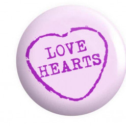 Love Heart Badges