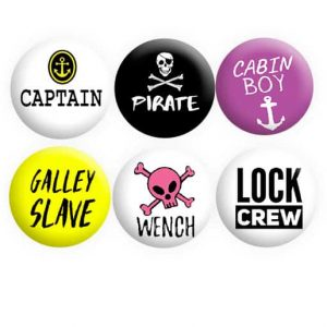 Boat Crew Badges Set 1
