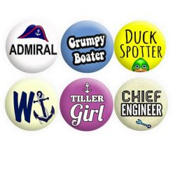 Boat Crew Badges Set 3