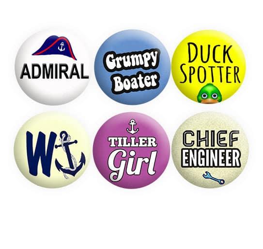Boat Crew Badges Set 3