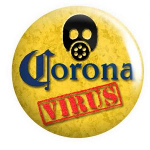 Coronavirus Button Pin Badges