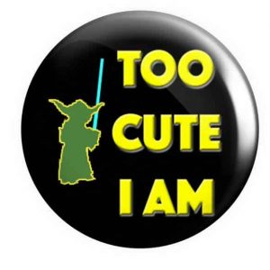Yoda Pin Badge