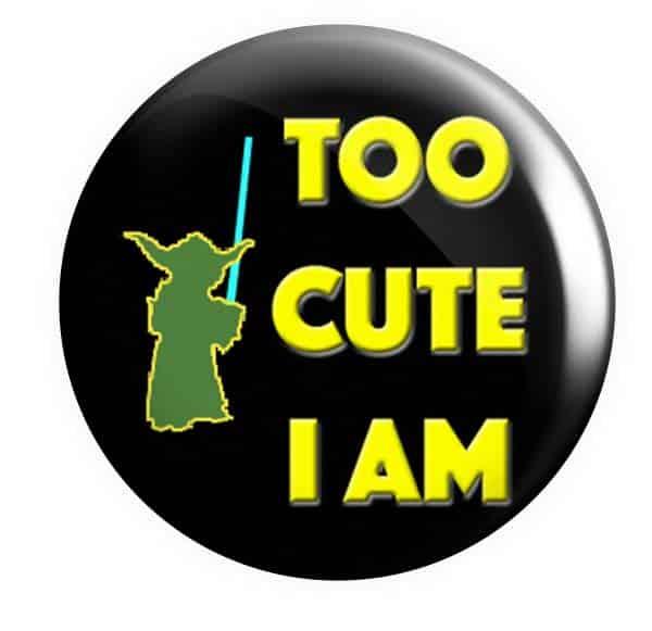 Yoda Pin Badge