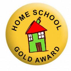 Home School Award Badge Button Pin Badges