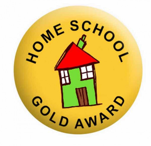 Home School Award Badge Button Pin Badges