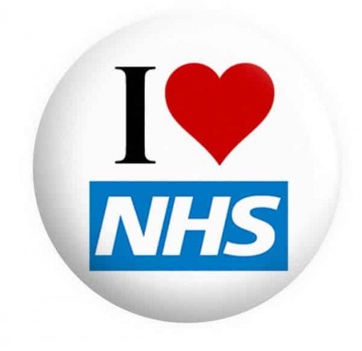 NHS Badges Button Pin Badge