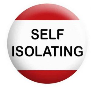 Self Isolating Badge Button Pin Badges