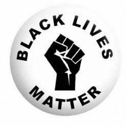 Black Lives Matter BLM Button Pin Badge