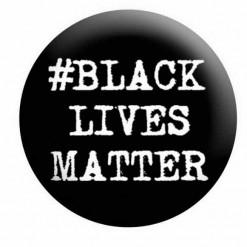 Black Lives Matter Badge Button Pin Badge