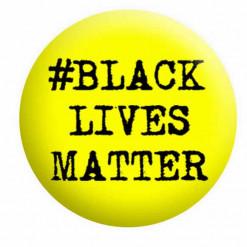 Black Lives Matter Badge Button Pin Badges