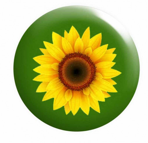 Sunflower Badge Hidden Disabilities Button Pin Badges