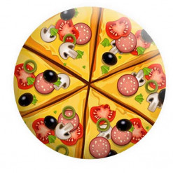 Pizza Badge Button Pin Badges