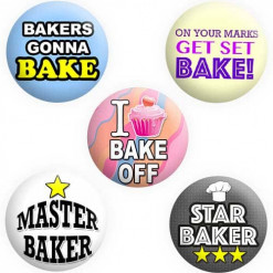 Great British Bake Off Badges