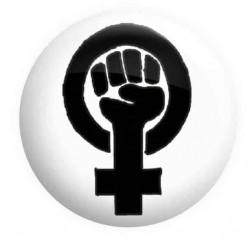 Feminist Logo Badge