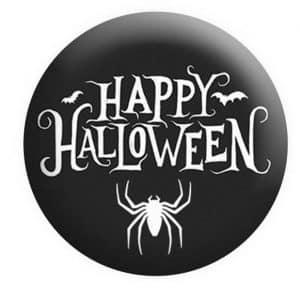 Happy Halloween Badge, Halloween Badges
