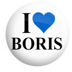 I Love Boris Badge, Boris Badges
