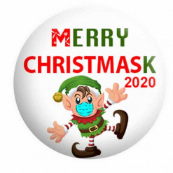 Christmas Badges, Mask Badges