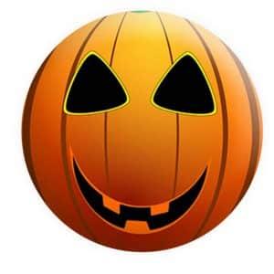Halloween Badges, Pumpkin Badge