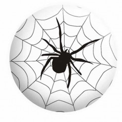 Halloween Badges, Spiders Web Badge