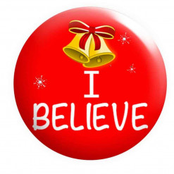 I Believe Badge, Christmas Badges