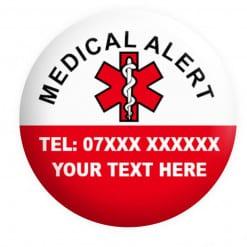 Medical Alert Badge